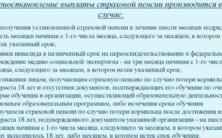 Статья 41. прекращение выплаты пенсии при утрате на нее права