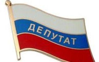 Статья 13. гарантии депутатской деятельности и неприкосновенности депутата