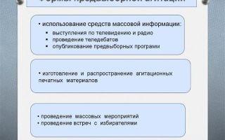 Статья 48. предвыборная агитация, агитация по вопросам референдума