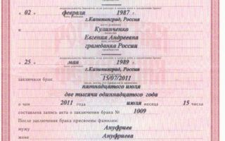 Статья 26. Заявление о заключении брака
