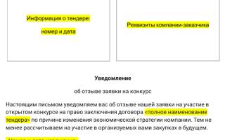 Статья 14. отказ от участия в программе