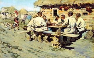 Быт крестьянина — история России