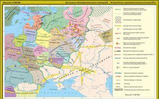 Карта: золотая орда во второй половине 13 веке — история России