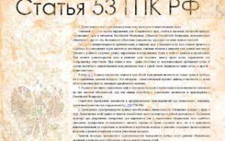 Статья 53. Стороны и их представители