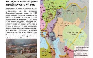 Социально-экономическое развитие северо-восточной руси — история России