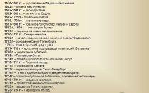Основные события при эпохе петра первого — история России