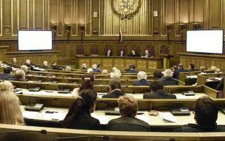 Статья 12. Функционирование в переходный период федеральных судов
