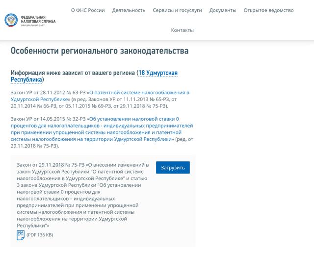 Налоги ИП – патент - советы юриста