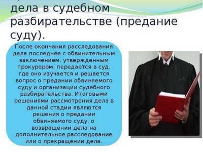 Статья 49. Подготовка дела к слушанию