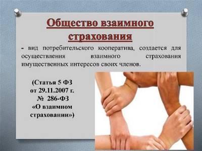 Статья 7. Порядок регулирования деятельности общества взаимного страхования