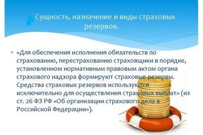 Статья 20. Страховой резерв фонда